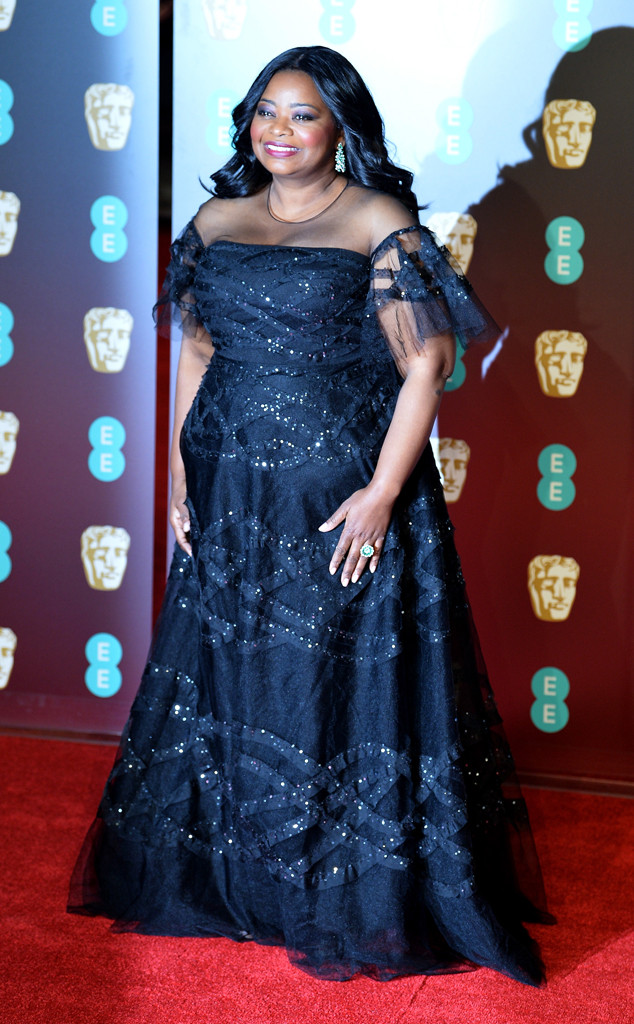 Every Dress Octavia Spencer Has Worn on the Red Carpet ... Images Of Octavia Spencer The Help