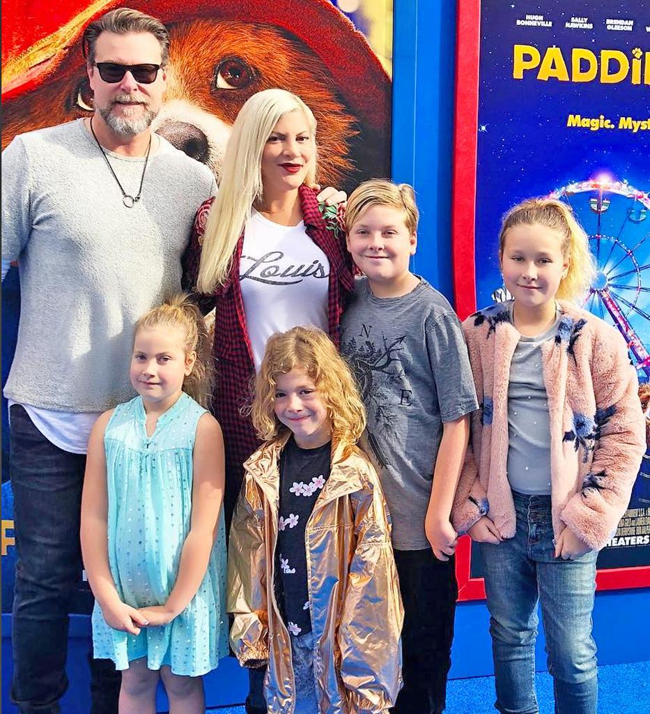 Dean McDermott, Tori Spelling, Family