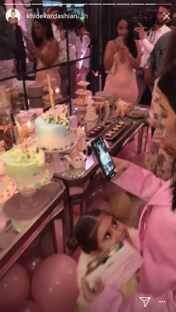 Khloe Kardashian Celebrates Her Luxurious Baby Shower With Family