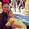 Chrissy Teigen, Luna, Hong Kong Disneyland, Instagram