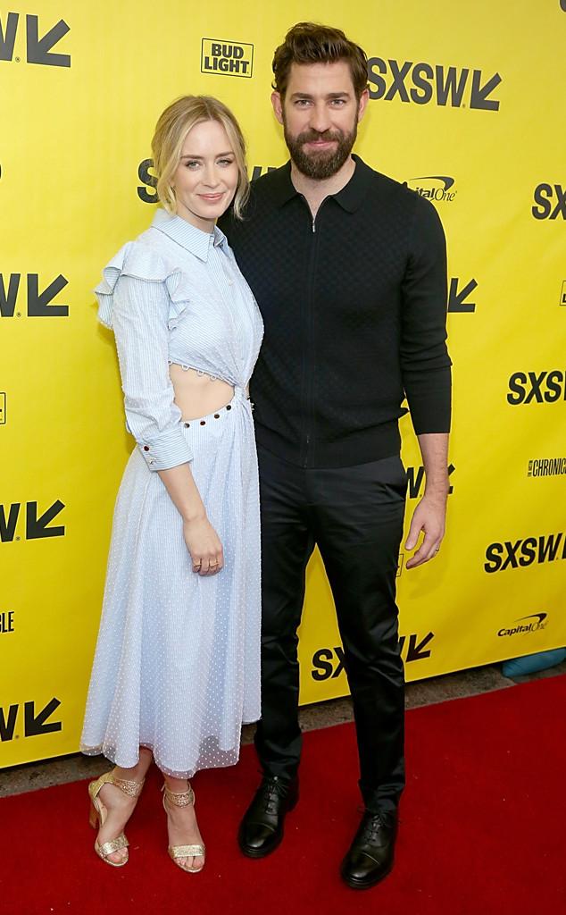 Emily Blunt, John Kransinski, 2018 SXSW Festival