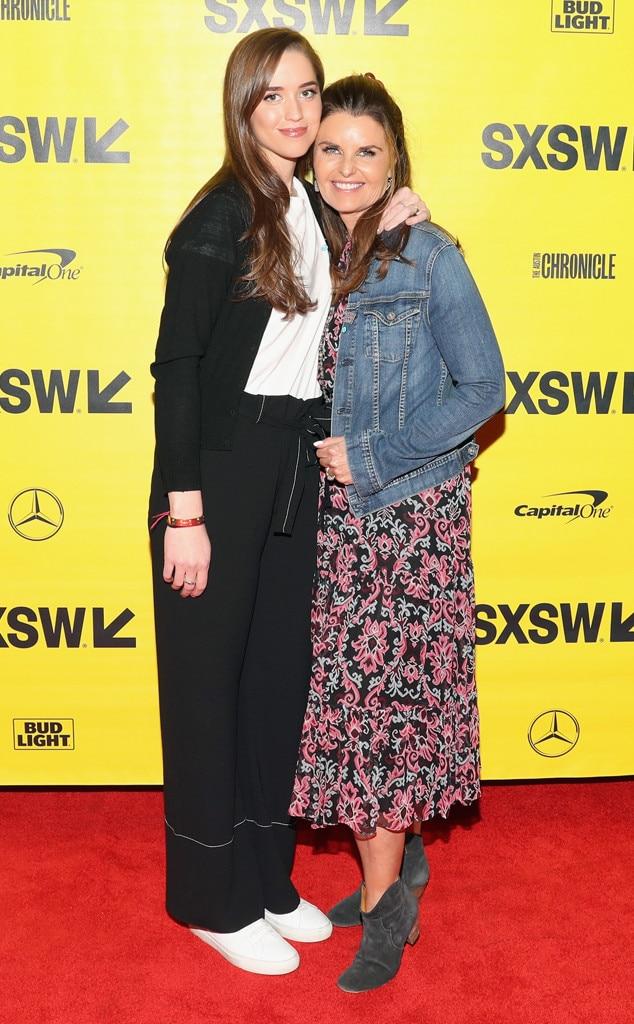 Christina Schwarzenegger & Maria Shriver from SXSW 2018