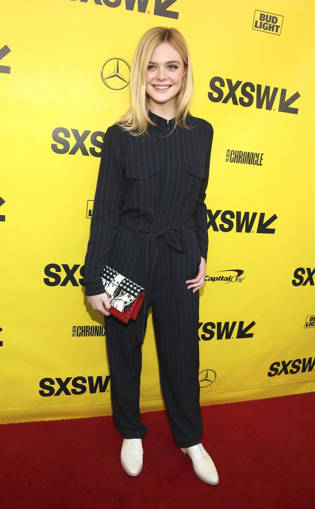 Elle Fanning, 2018 SXSW Festival