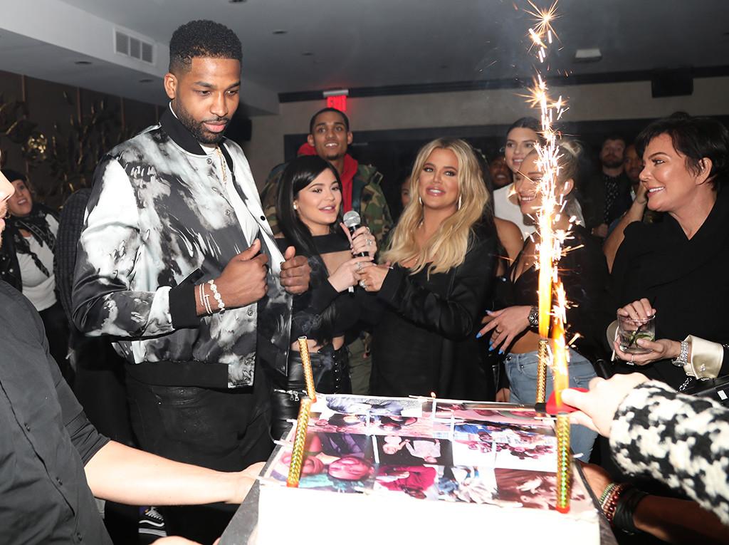 Tristan Thompson, Birthday, Khloe Kardashian, Kylie Jenner, Kris Jenner, Guests