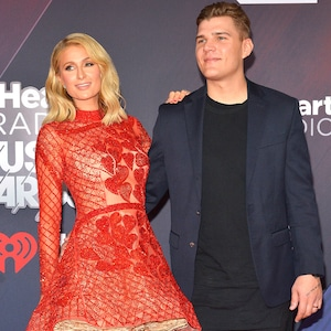 Paris Hilton, Chris Zylka, 2018 iHeartRadio Music Awards