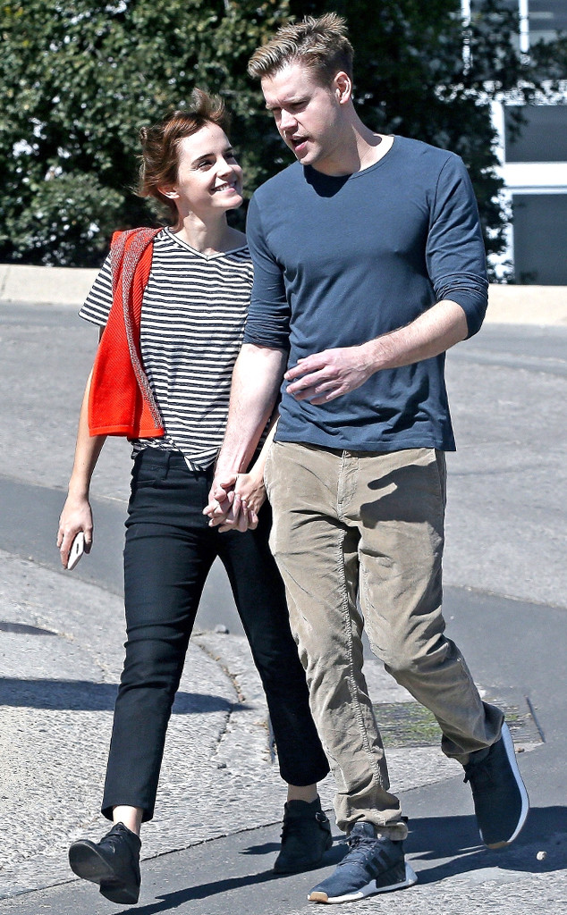 Emma Watson and Chord Overstreet Show PDA: Why They Make the Perfect ...