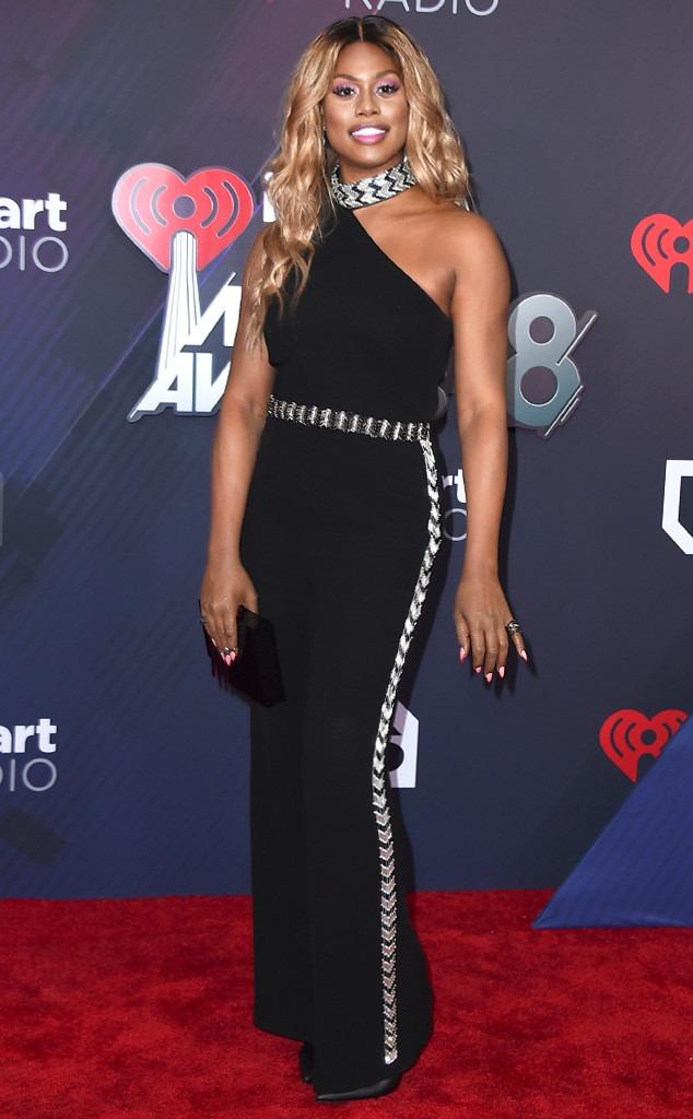Laverne Cox, 2018 iHeartRadio Music Awards, Widget