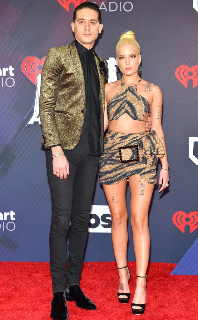 G-Eazy, Halsey, 2018 iHeartRadio Music Awards