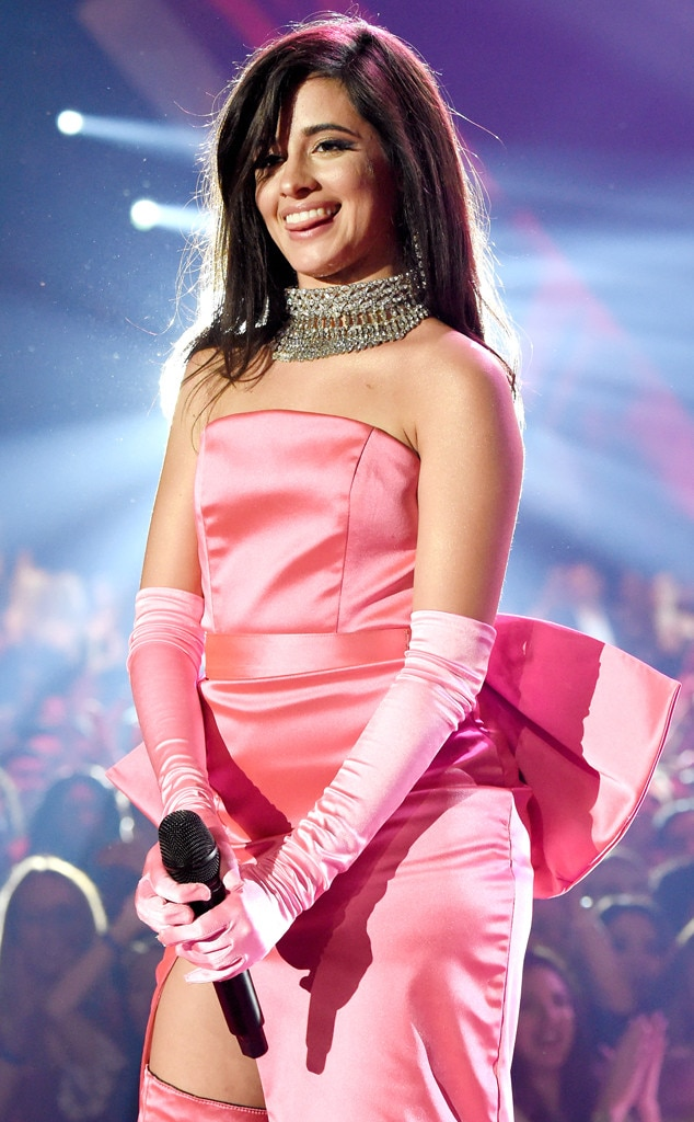 "Camila Cabello -  The ""Havana"" singer brings the heat to the iHeartRadio stage wearing a flamingo pink gown that exudes old Hollywood glamour. In fact, her outfit was a recreation of  Marilyn Monroe 's iconic dress from  Gentleman Prefer Blondes ."