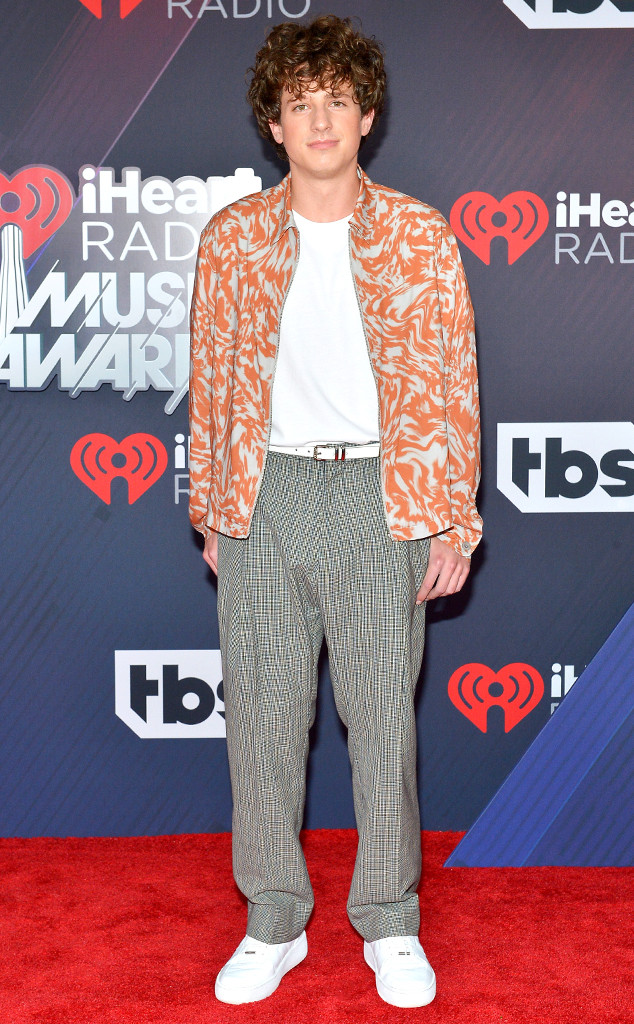 Charlie Puth, 2018 iHeartRadio Music Awards
