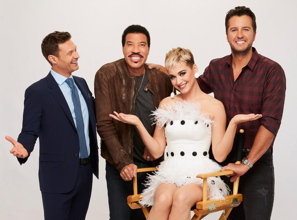 American Idol, Ryan Seacrest, Lionel Richie, Katy Perry, Luke Bryan
