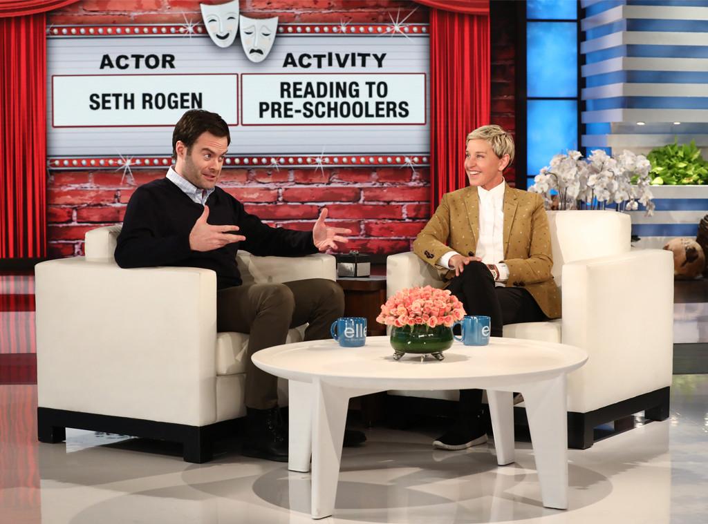 Bill Hader, Ellen DeGeneres, Ellen DeGeneres Show