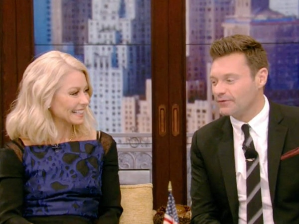 Morning Dream Team! See Kelly Ripa and Ryan Seacrest's Cutest <i>Live</i> Moments