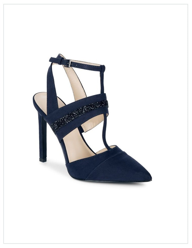 ce8e1cd8a523 HALSTON HERITAGE from Shop the Look  Meghan Markle and Kate Middleton s  Navy Blue Pumps