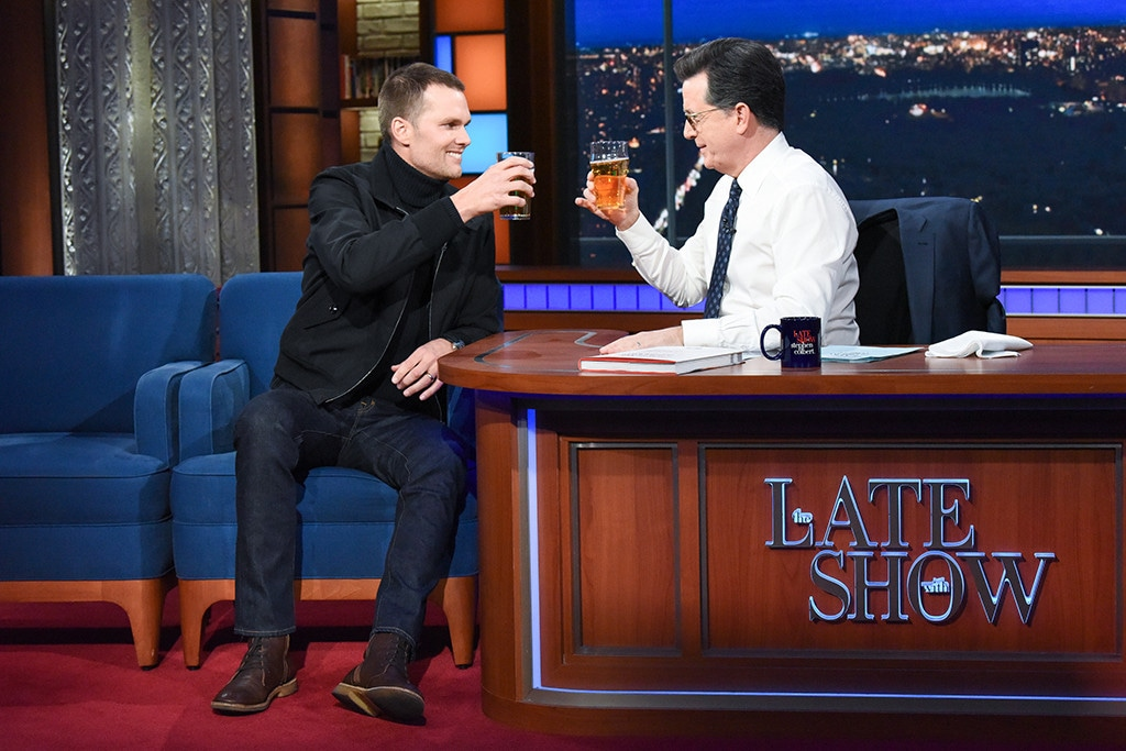 Tom Brady, The Late Show With Stephen Colbert