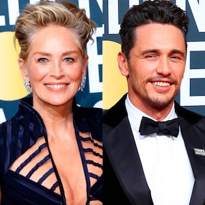 Sharon Stone, James Franco
