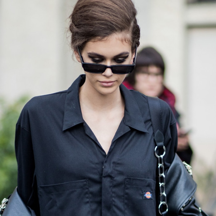 c98525aa651 Kaia Gerber Makes a Case for the Early 2000s Dickies Trend