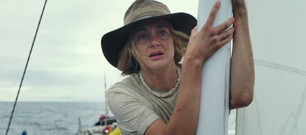 Shailene Woodley,  Adrift  - The Drama Movie Star of 2018