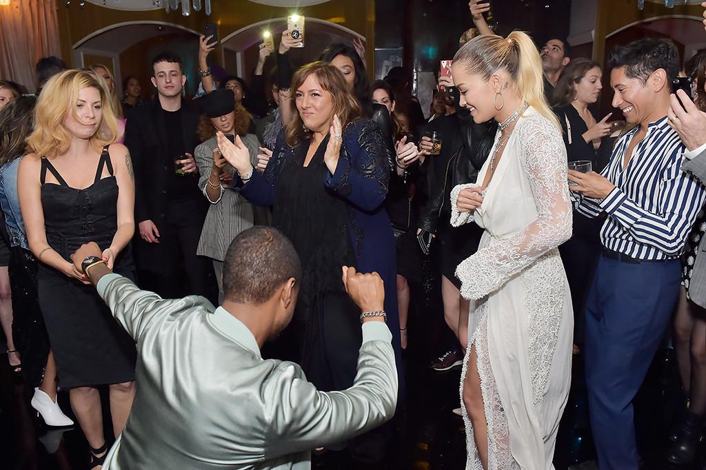 Usher, Rita Ora, Lorraine Schwartz Party