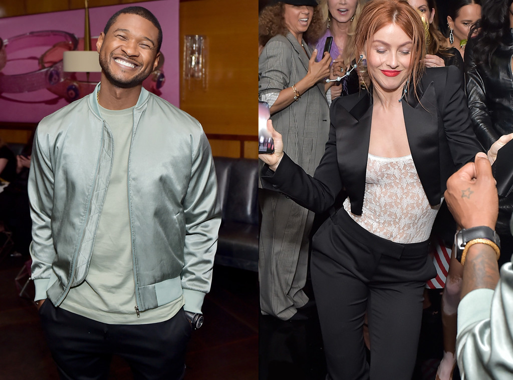 Usher, Julianne Hough