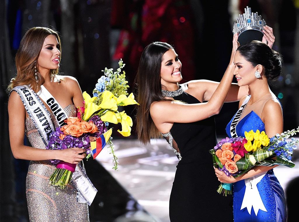2015 Miss Universe Pageant, Miss Colombia 2015, Ariadna Gutierrez Arevalo, Miss Philippines 2015, Pia Alonzo Wurtzbach