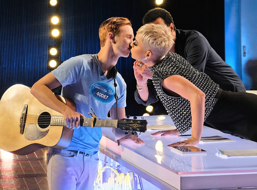 Benjamin Glaze, Katy Perry, American Idol