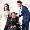 Felicity Jones, Stephen Hawking, Eddie Redmayne