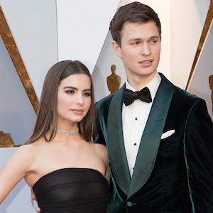 Ansel Elgort, Violetta Komyshan, 2018 Oscars