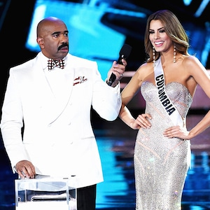 2015 Miss Universe Pageant, Miss Colombia 2015, Steve Harvey