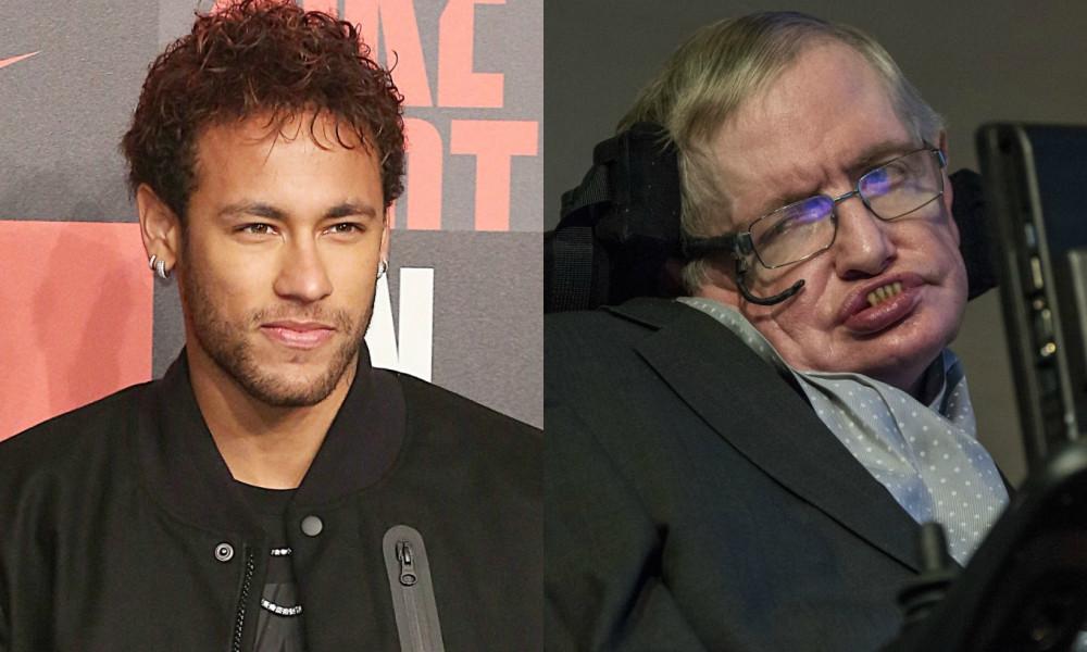 Neymar, Stephen Hawking