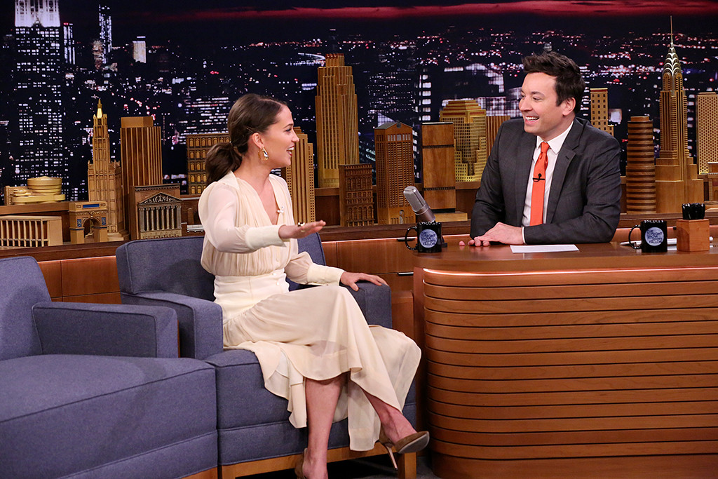 Alicia Vikander, The Tonight Show Starring Jimmy Fallon