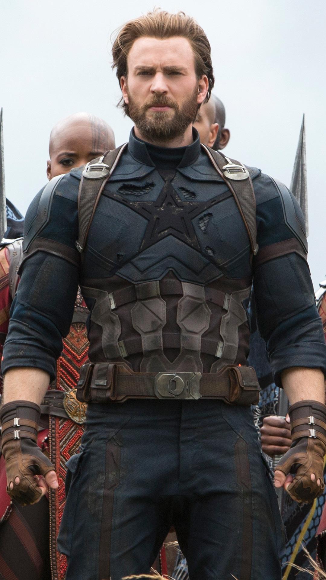 Avengers: Infinity War, Chris Evans