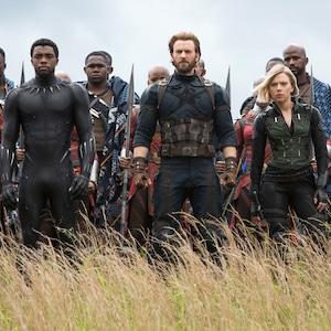 Avengers: Infinity War, Chadwick Boseman, Chris Evans, Scarlett Johansson