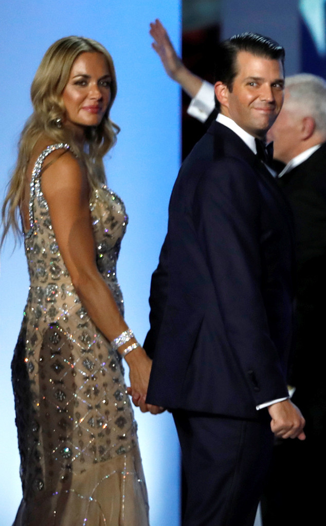 Vanessa Trump, Donald Trump Jr., Inauguration