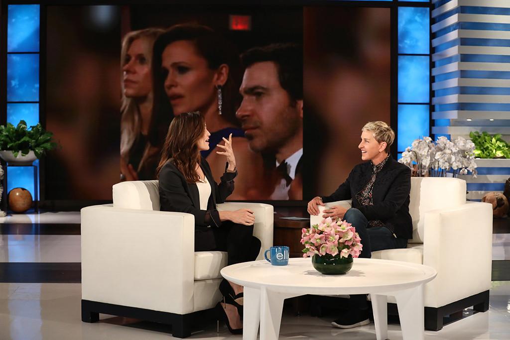Jennifer Garner, Ellen DeGeneres