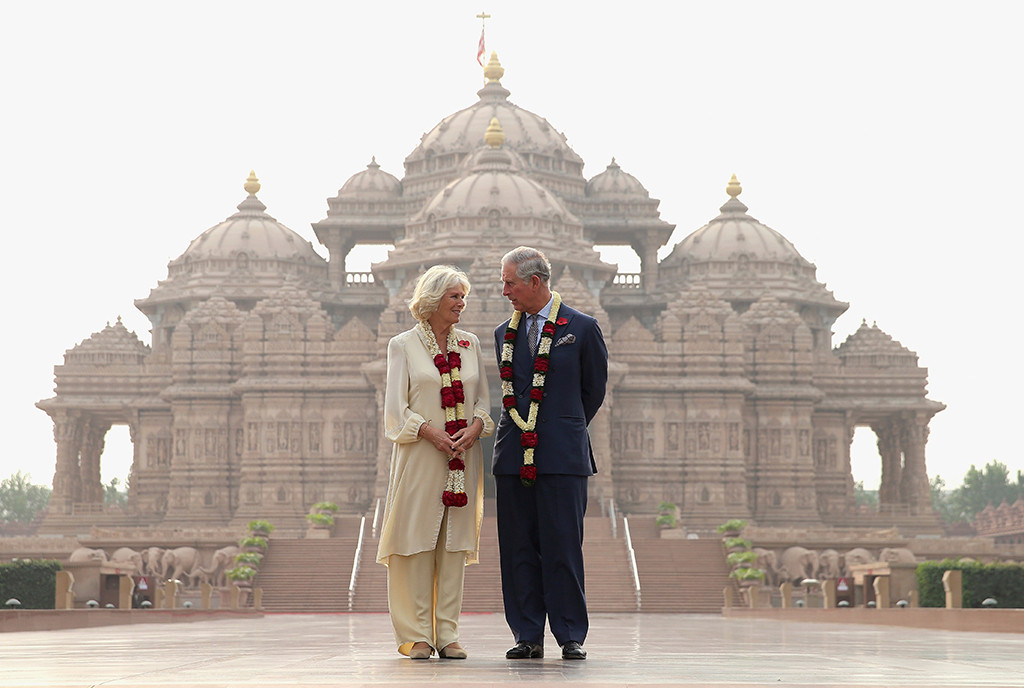 Prince Charles, Camilla, India, Chris Jackson