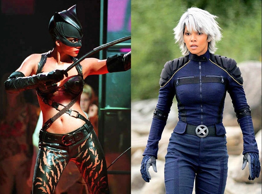 Halle Berry from Stars Who Played Multiple Superheroes | E ...