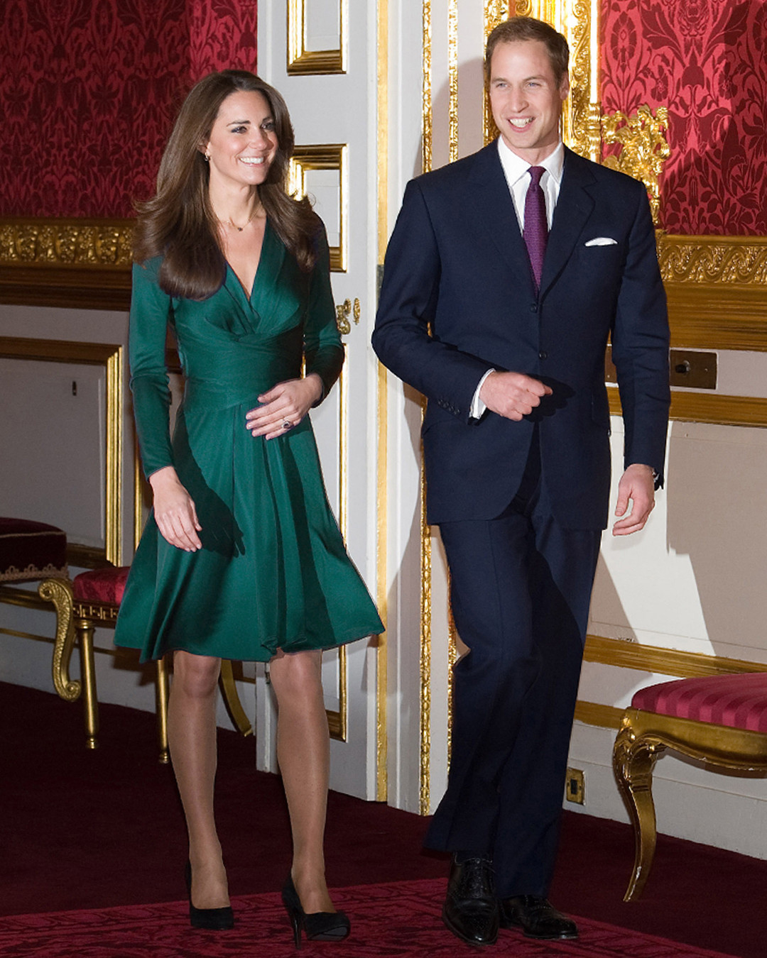 ESC: Kate Middleton, Issa Engagement Dress