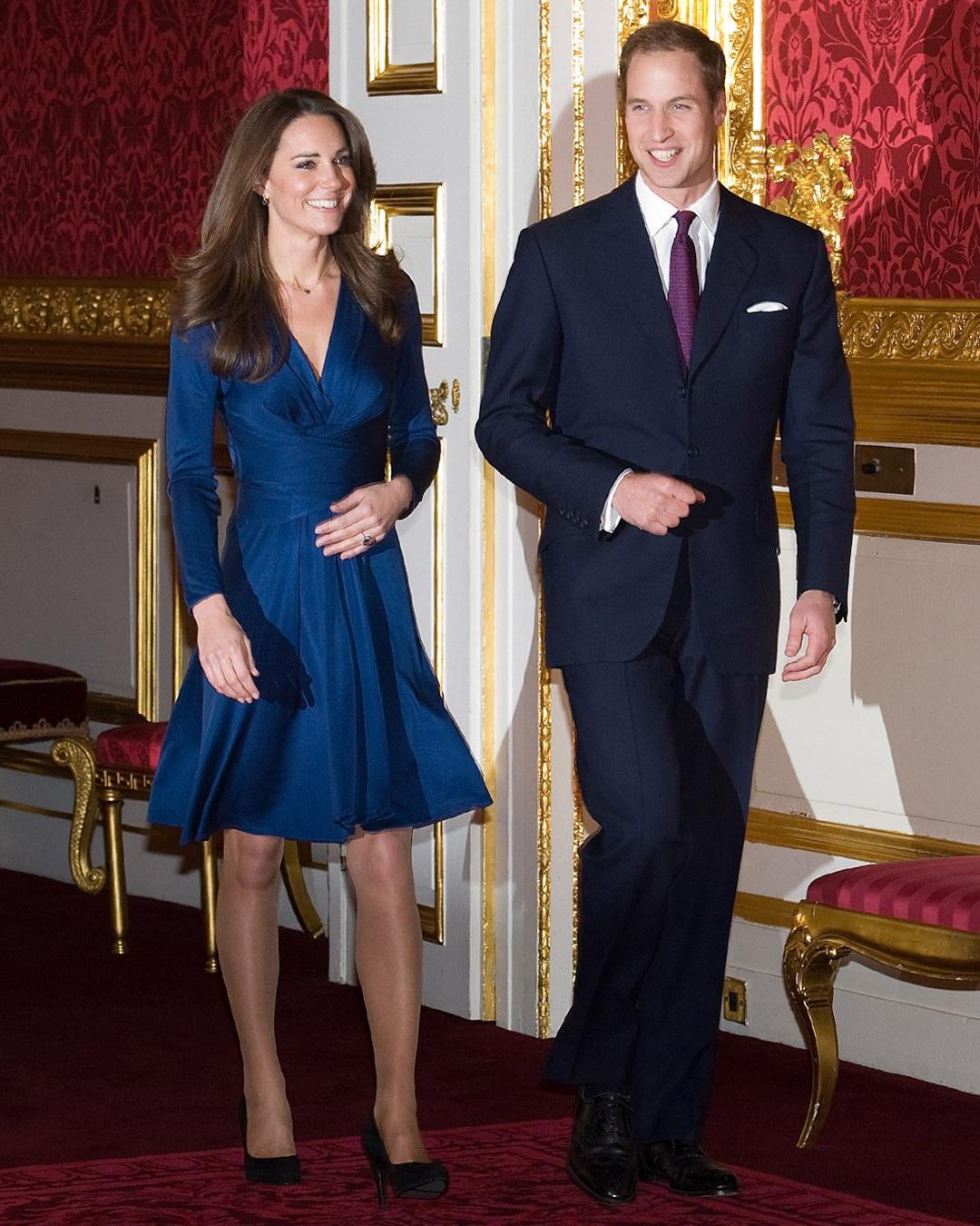 ESC: Kate Middleton, Issa Engagement Dress