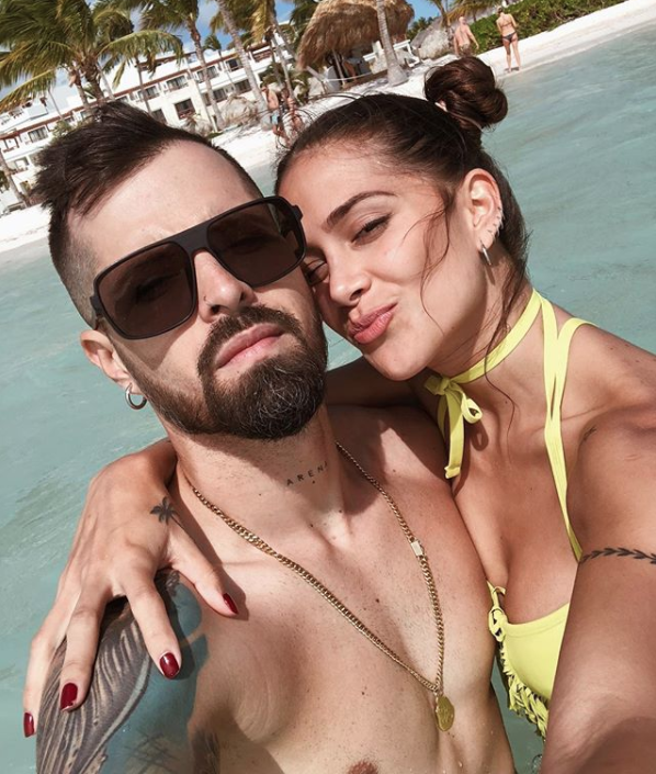 Mike Bahia, Greeicy Rendón