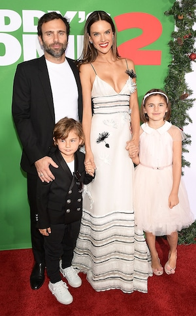 Alessandra Ambrosio, Jamie Mazur, Kids, Family