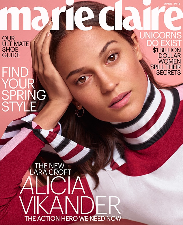 Alicia Vikander, Marie Claire, April 2018