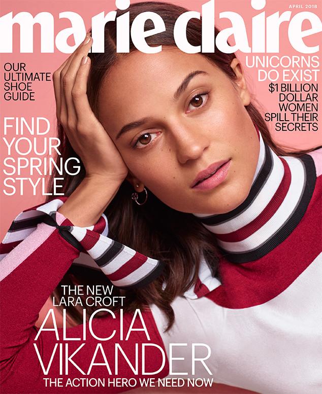 Alicia Vikander, Marie Claire, April 2018