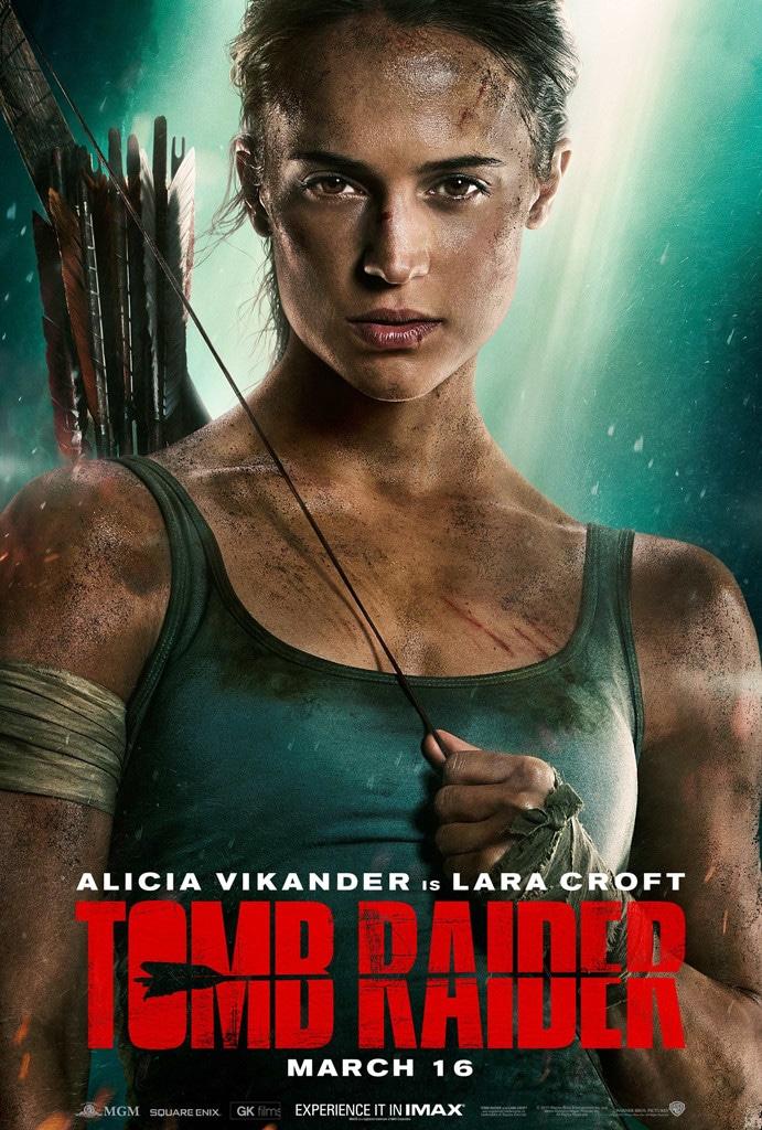 Alicia Vikander, Tomb Raider