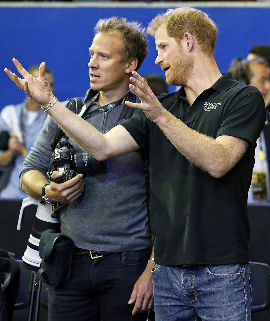 Prince Harry, Chris Jackson