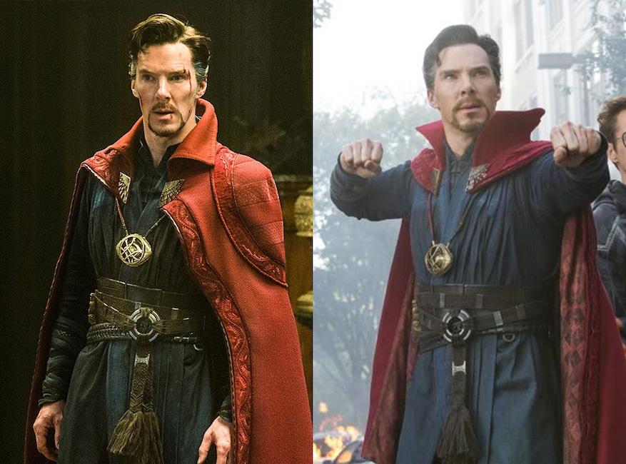 Benedict Cumberbatch, Doctor Strange, Avengers: Infinity War, Avengers Then and Now