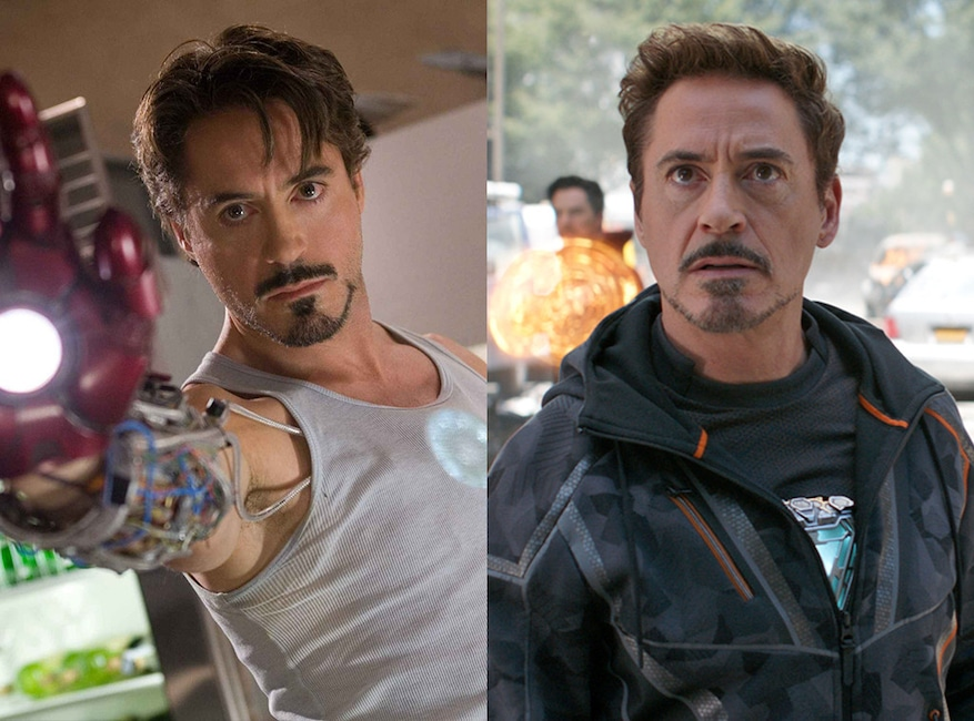 Robert Downey Jr. The action-packed Iron Man, or Avengers: Infinity War, Avengers Then and Now