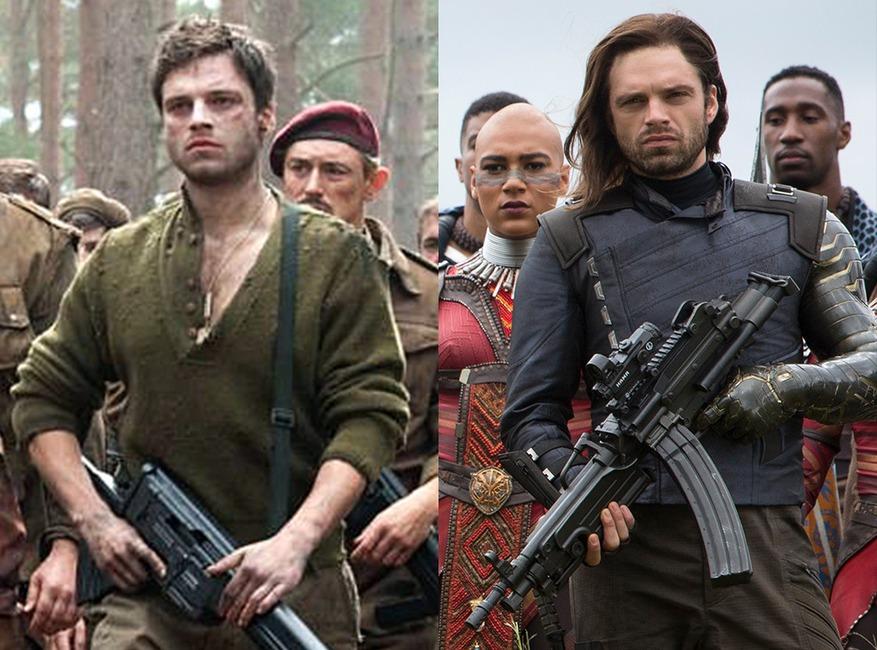 Sebastian Stan, Captain America, the Avengers: Infinity War, Avengers Then and Now