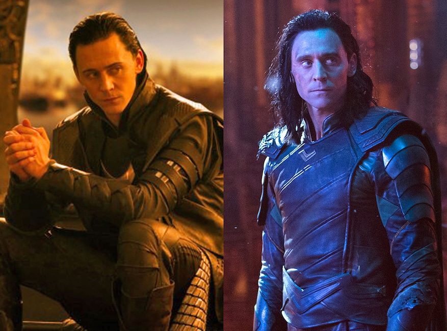 Tom Hiddleston, Thor, Avengers: Infinity War, Avengers Then and Now