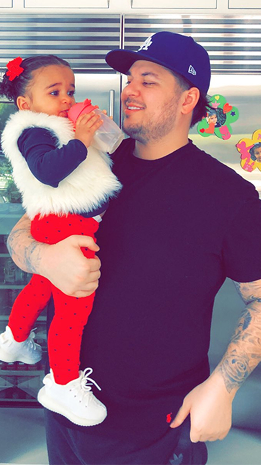Rob Kardashian, Dream Kardashian, St Patrick's Day 2018